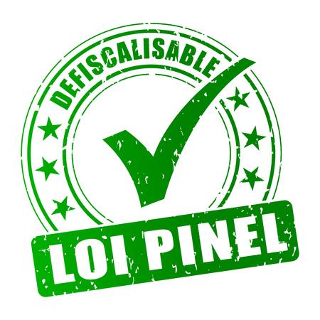 Logo vert de la Loi Pinel